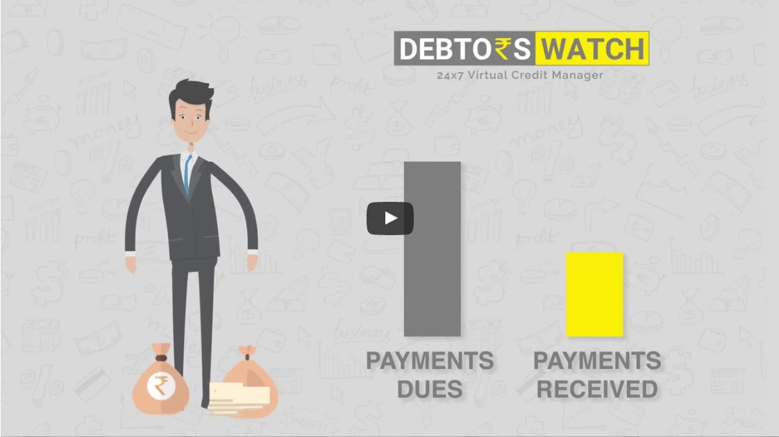 process to recover bad debt, process to recover unpaid invoice
